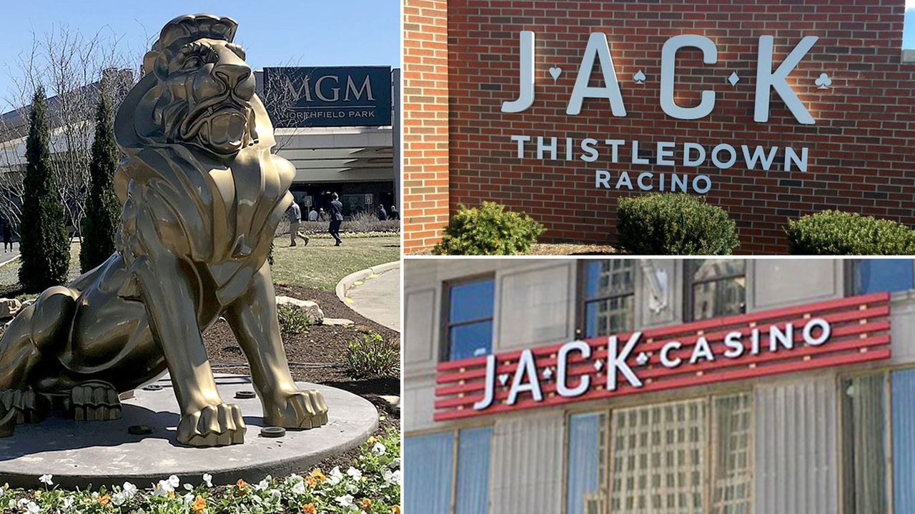 With bets off during coronavirus, Ohio's casino, racino revenue down $112 million –
